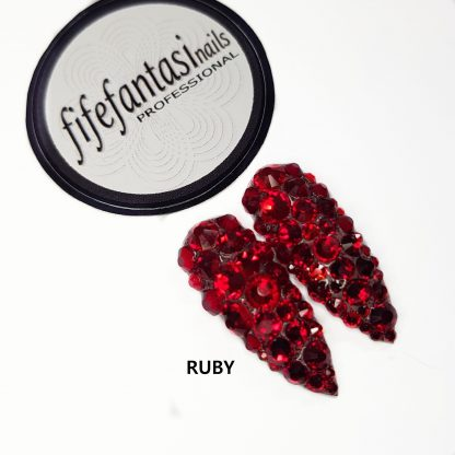 ruby press on nails