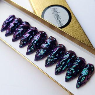 dragon nails, press on nails, false nails, stiletto nails, glue on nails